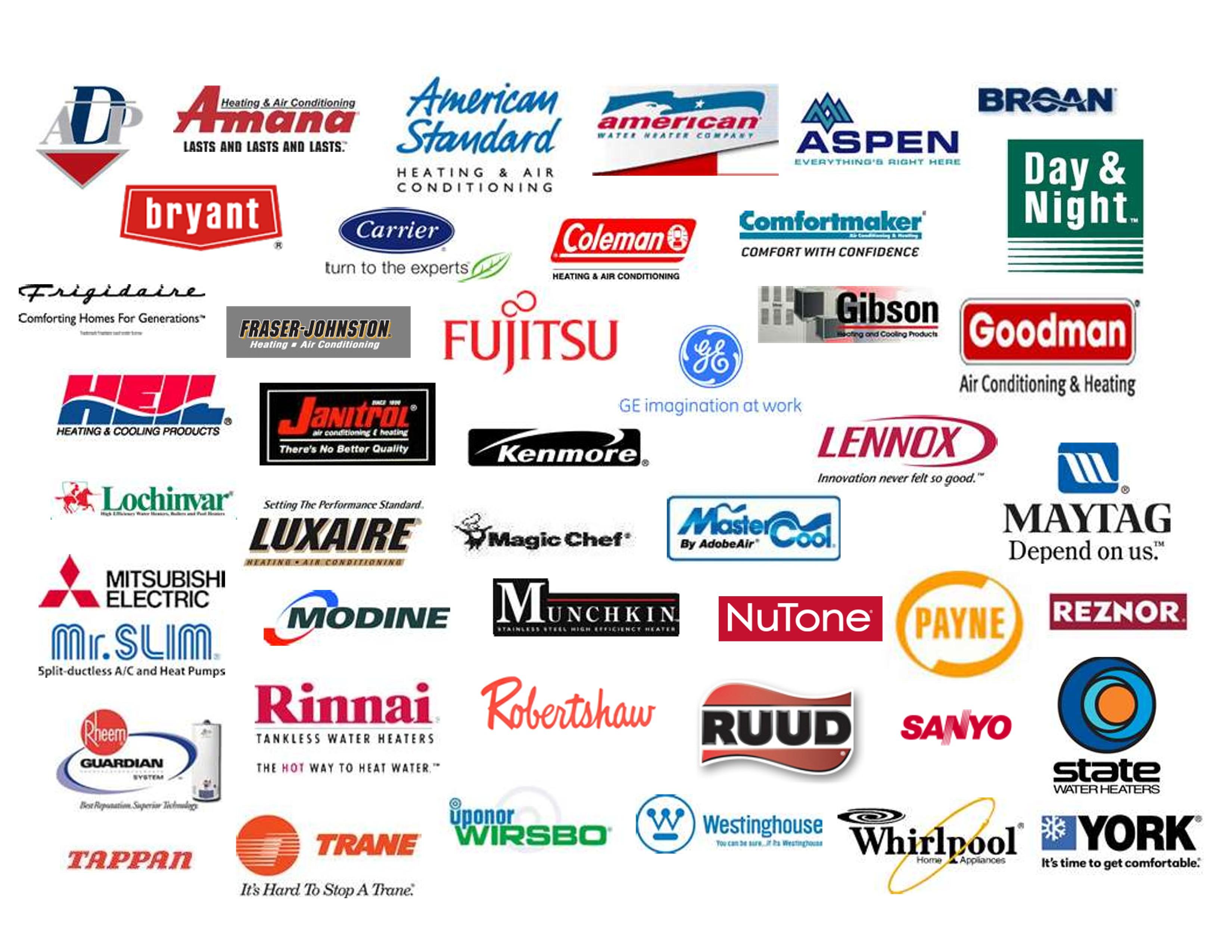 Top 10 HVAC Brands ACR OKC